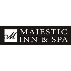 logo for majestic inn and spa